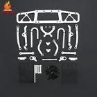 CNC Metal Rear Anti-collision Kit for 1/5 HPI Baja ROVAN KM 5B Rc Car Parts