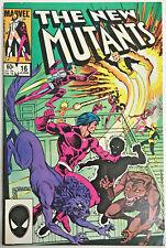 NEW MUTANTS#16 FN 1984 MARVEL COMICS