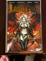 Lady Death: Chaos Rules #1 (2016) Coffin.