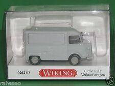 1:87 Wiking 026202 Citroën HY Verkaufswagen - lichtgrau Blitzversand DHL-Paket