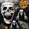 Halloween Horror Head Bones Skeleton Decorations Indoor Outdoor Scary Skull Hand