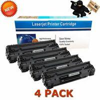 4PKs Toner for HP CE285A 85A LaserJet Pro P1102 P1102w M1212nf M1217nfw Printer