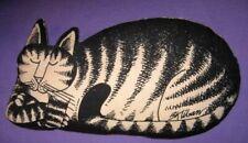 Kliban Cat Stuffed Throw Pillow sleeping loaf 00004000  by Workman Publishing Co.