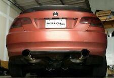 """07 08 09 10 BMW E90 E92 335i Coupe / Sedan Catback exhaust 4"""" Tips Beluga Racing"""