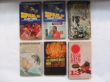 Lot of 6 Science-Fiction Paperback Books ~ Space 1999, Secret People, etc.