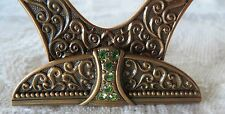 EDGAR BEREBI PLACE CARD HOLDER Empress Green Peridot Wedding Bridal SET/6 GIFT