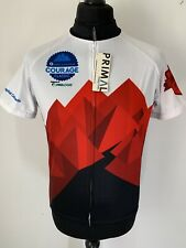 Primal Courage Classic 2018 Top Fundraiser Cycling Jersey Short Sleeve L NEW TAG