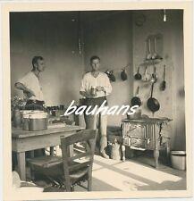 Frankreich-Clermont les Fermes-Soldaten-Luftnachrichten in der Küche 2.WK (a842)