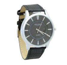 Men's Genuine Leather Strap Teen Wristwatches