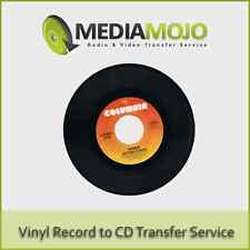 Vinyl Record to CD or Mp3 Transfer Service (Premium)