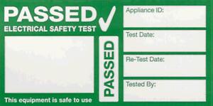 240x Cable Wrap PAT Testing Labels