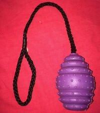 """GOMMA Brufoli 3.5"""" Dental palla sulla corda resistente EXERCISER denti sani Gum"""