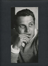NICE EARLY CANDID OF PAUL NEWMAN - DOUBLEWEIGHT MATTE FINISH