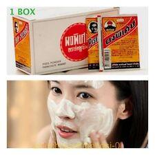 Thailand 1Box(36 Pcsx3g.)PISES Powder Acne Treatments Anti Bacterial Pimple Herb