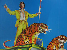 Circus Poster Vintage Lot Original Animal Act Clown Foreign Europe