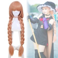 Topspeed Magical Girl Raising Project Murota Tsubame Orange Braided Cosplay Wig