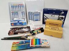 Drawing/Painting/Pastels/Art Supplies Lot