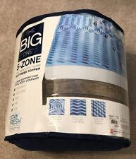 """The Big One"" 1.5 inch Gel Memory Foam Mattress Topper - Queen Size MADE In USA"