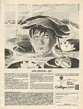 Publicité Advertising 1966  Culligan  une piscine ... ça !