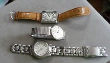 WATCHES for parts TIMEX,WINTER GEEN & FOSSIL