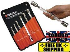 6pc Double Ended Hex Socket Spanner Set Socket Metric Douple Wrench Flex Head
