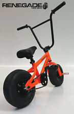 FRO Systems Renegade Stunt Mini BMX Bike -  NEON Orange - ADULT AND KIDS