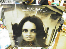 Joan Baez where are you , my son ? disque 33 tours  RCA SP- 4390