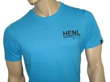 BNWT - HENLEYS Project Deluxe T-Shirt Turquoise Blue  XXL