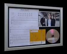 MUSE New Born LIMITED NUMBERED CD MUSIC FRAMED DISPLAY!