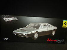 Hot Wheels Elite Ferrari Dino 308 GT4 1/18 Limited Edition