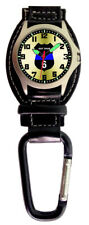 Aqua Force Police Officer Got Your Six Carabiner Watch (30m Water Resistant)