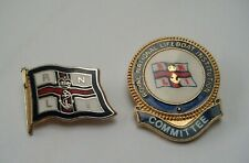 More details for rnli committee  and lifeboat vintage enamel pin badges