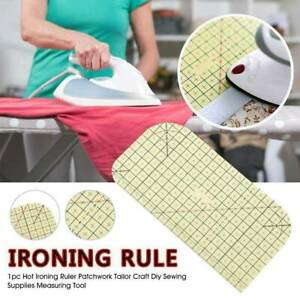 Hot Ironing Ruler Patchwork Tailor Craft Diy Sewing Supplies Measuring Tool Rule