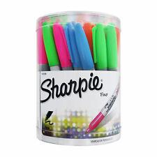 Sharpie Neón marcadores permanentes, punto fino, Colores Surtidos, 36-Conde