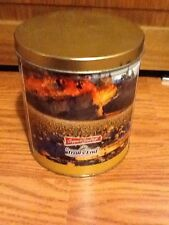 """EUC! Trail's End Boy Scouts Popcorn Collectible Tin Container Canister & Lid 6"""""""