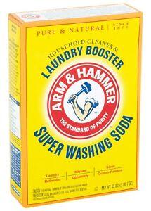 ARM & HAMMER Super Washing Soda powder detergent booster & Natural Cleaner 03020