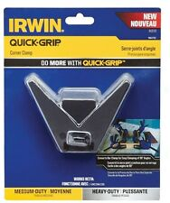 QUICK-GRIP Plastic Corner Clamp Pads 90 Degree Angle Medium and Heavy-Duty Irwin