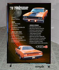 CAR SHOW Display BOARD for Your Custom Car or Truck