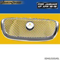 For Jaguar XF XFR 2012 2013 2014 2015 Chrome Upper Front Center Grill Grille