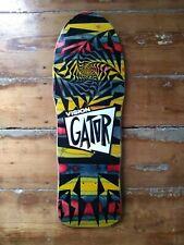 Vision Gator 2 Skateboard Deck Rare Multicolor Stain hosoi powell peralta alva