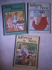 NANE : A. Lichtenberger lot de 3 albums E.O