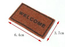 Dollhouse Welcome Mat 1:12 scale