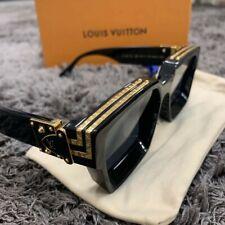 Louis Vuitton 1.1 Millionaires Sunglasses Z1165E Black and Gold Virgil Abloh