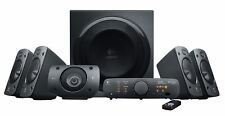 NEW LOGITECH Z906 STEREO SPEAKERS 3D - 5.1 DOLBY SURROUND SOUND 1000-WATT