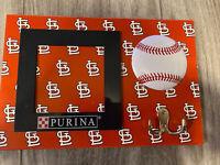 St Louis Cardinals Baseball SGA PET Dog LEASH HOLDER WITH PHOTO FRAME by PURINA