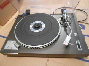 VINTAGE KENWOOD KD-3070 Auto Return Direct Drive Turntable. Acutex LPM Cartridge