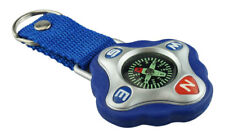 Surviving Gadget - Liquid Filled Outdoor Adventure Compass w/ Strap & Key Ring