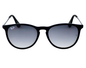 Ray-Ban Sunglasses RB4171 Erika Classic Matte Black Grey Gradient Unisex 54mm