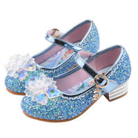 Kids Girls Ballet Shoes Sequin Mary Jane Dance Shoes Soft Sole Round Head Shoes