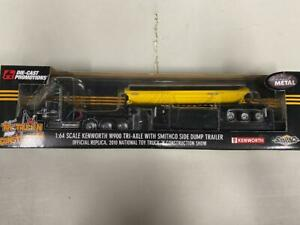 """DCP 32348 """"SmithCo"""" Kenworth Side Dump 1:64 Die-cast Promotions First Gear"""